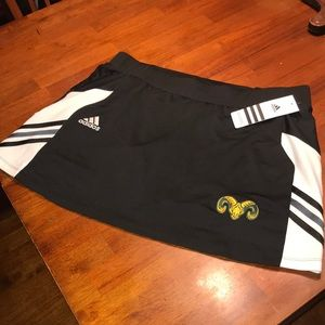 Adidas tennis utility skort with short size large